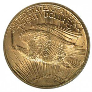 1923-D $20 Saint Gaudens Double Eagle NGC MS65